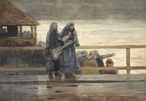 Art Prints of Perils of the Sea by Winslow Homer
