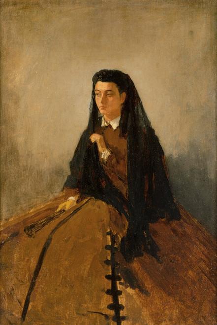 Art Prints of Portrait of Pauline by Winslow Homer