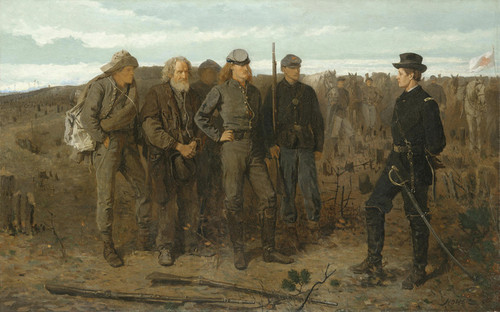Art Prints of Prisoners from the Front by Winslow Homer