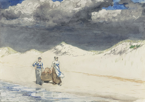 Art Prints of Sand and Sky by Winslow Homer