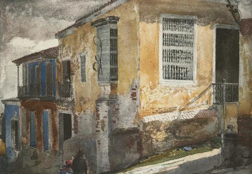 Art Prints of Santiago de Cuba Street Scene by Winslow Homer