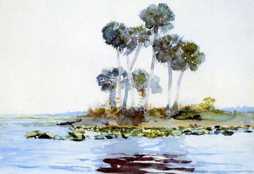 Art Prints of Saint Johns River Florida by Winslow Homer