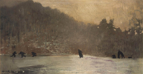 Art Prints of Skating by Winslow Homer