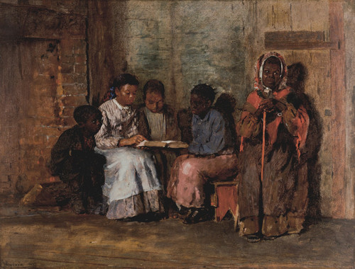 Art Prints of Sunday Morning in Virginia by Winslow Homer