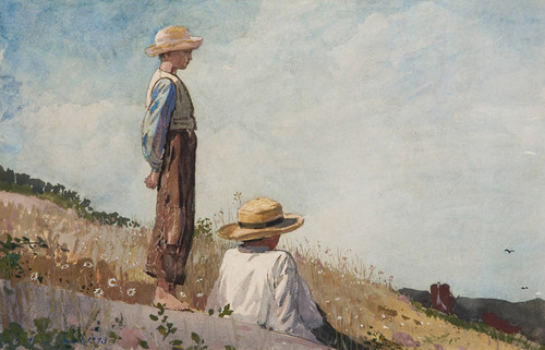 Art Prints of The Blue Boy by Winslow Homer