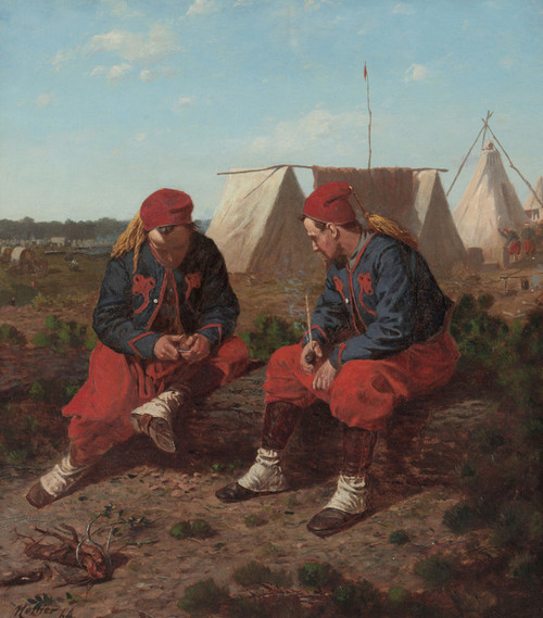 Art Prints of The Brierwood Pipe by Winslow Homer