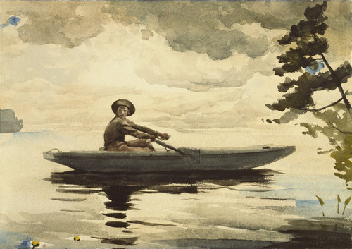 Art Prints of The Boatman by Winslow Homer