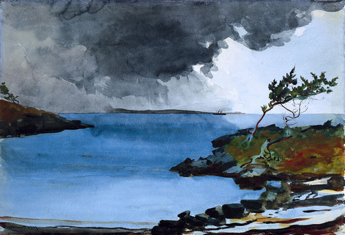 Art Prints of The Coming Storm by Winslow Homer