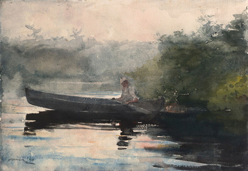 Art Prints of The End of the Day by Winslow Homer