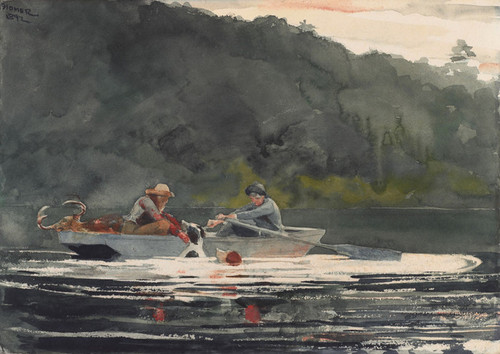Art Prints of The End of the Hunt by Winslow Homer
