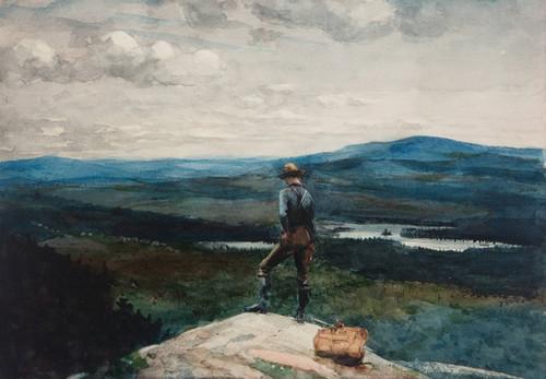 Art Prints of The Ranger, Adirondacks by Winslow Homer