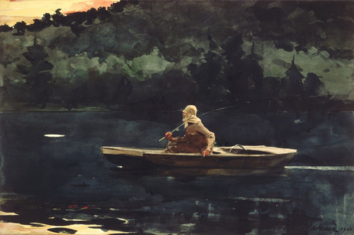 Art Prints of The Rise by Winslow Homer