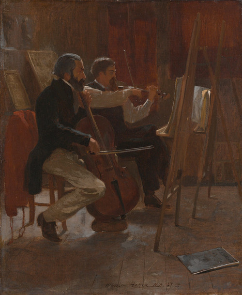 Art Prints of The Studio by Winslow Homer