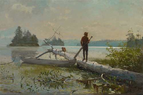 Art Prints of The Trapper by Winslow Homer