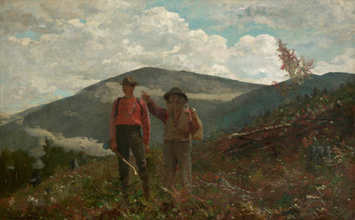 Art Prints of The Two Guides by Winslow Homer