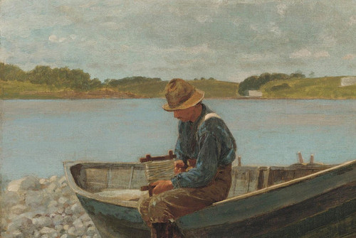 Art Prints of Winding Line by Winslow Homer