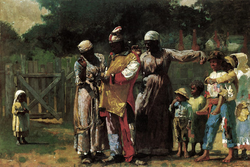 Art Prints of The Carnival or Dressing for the Carnival by Winslow Homer