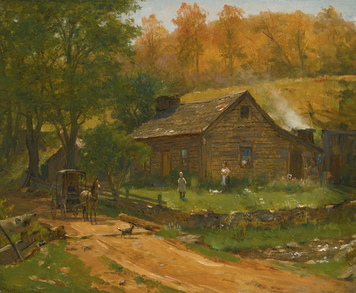 Art Prints of Going to Town by Worthington Whittredge