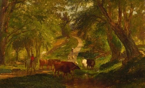 Art Prints of Landscape near Millburn, New Jersey by Worthington Whittredge