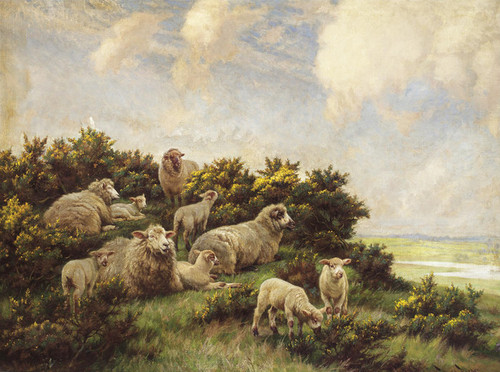 Art Prints of Spring by Wright Barker