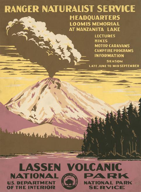 Art Prints of Lassen Volcanic National Park (399097), Travel Poster