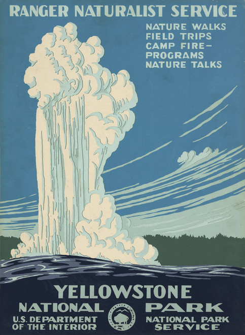 Art Prints of Yellowstone National Park (399098), Travel Poster