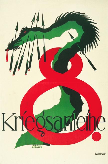 Art Prints of Austrian Poster, 8th War Bonds, War & Propaganda Posters