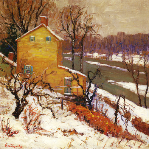 Art Prints of Winter Gold by Fern Coppedge