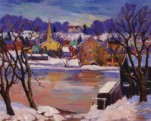 Art Prints of Winter from Skillsmans by Fern Coppedge