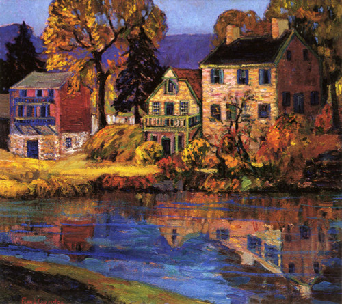 Art Prints of Canal Reflections by Fern Coppedge