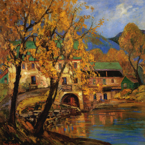Art Prints of The Old Grist Mill, Bucks County Playhouse by Fern Coppedge