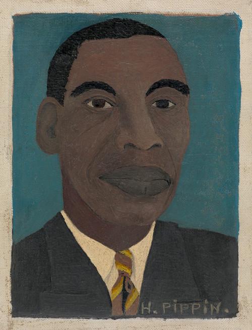 Self Portrait II by Horace Pippin | Fine Art Print