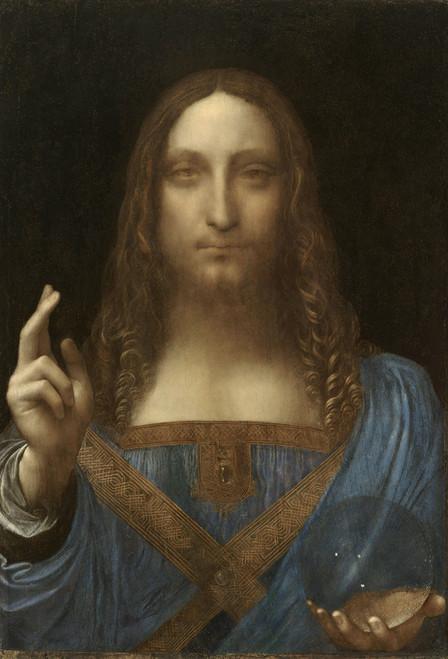 Art Prints of Salvator Mundi (Jesus Christ) by Leonardo da Vinci