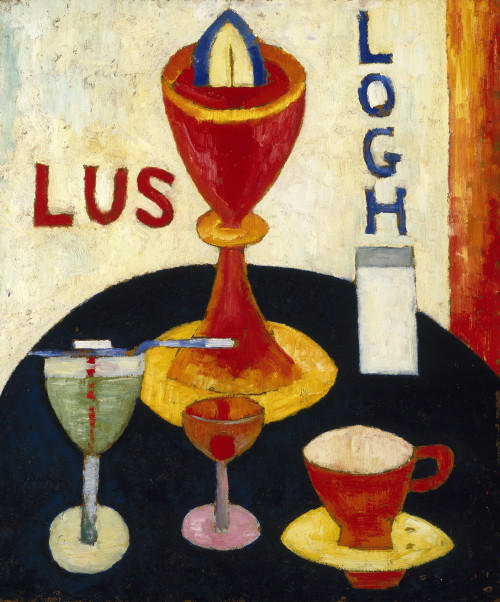 Handsome Drinks by Marsden Hartley | Fine Art Print