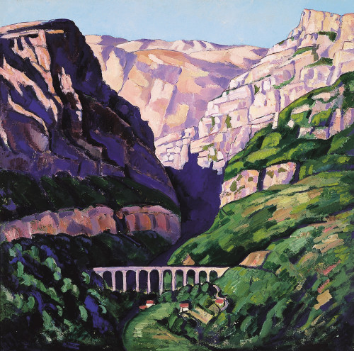 Maritime Alps by Marsden Hartley | Fine Art Print