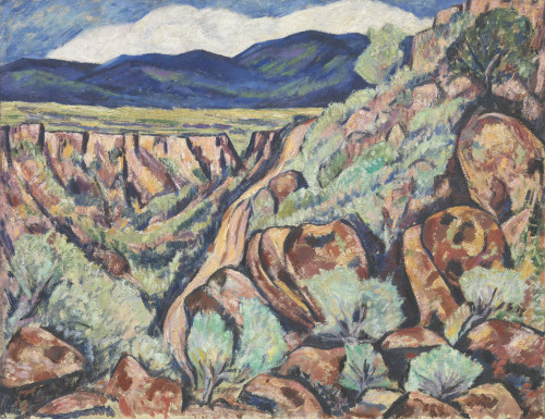 Landscape No. 11, New Mexico by Marsden Hartley | Fine Art Print
