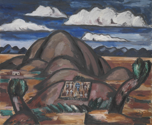 New Mexico by Marsden Hartley | Fine Art Print