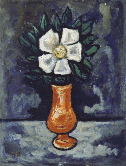 White Flower by Marsden Hartley   Fine Art Print