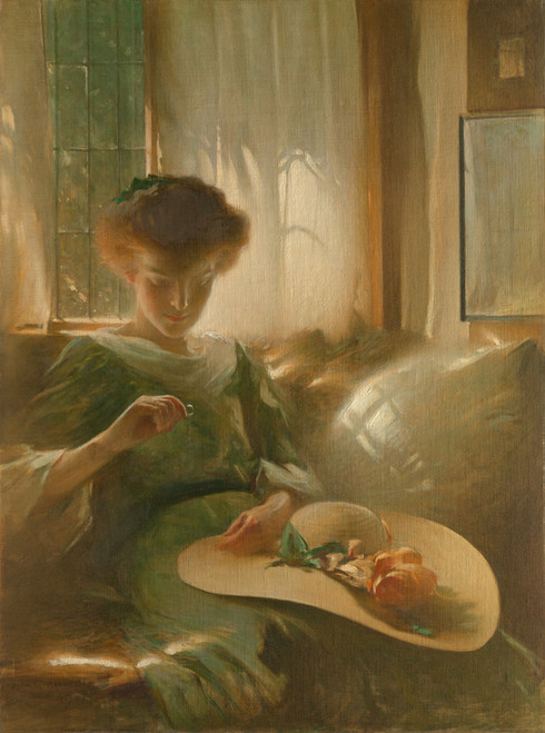 The Ring by John White Alexander | Fine Art Print