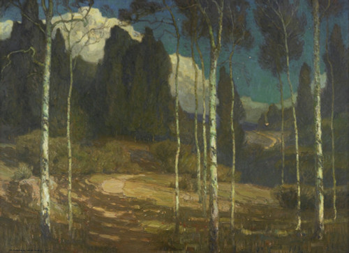 Art Prints of The Silence of Night by William Wendt