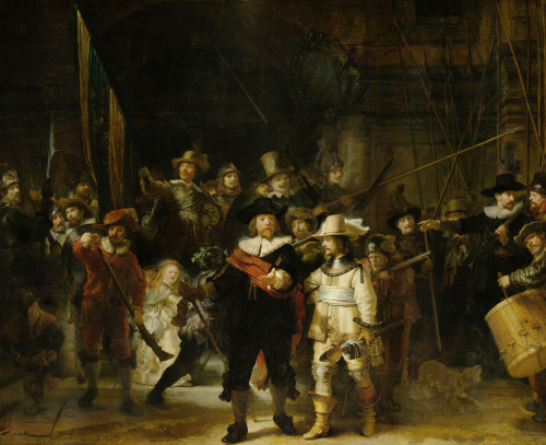 Night Watch 1642 by Rembrandt van Rijn | Fine Art Print