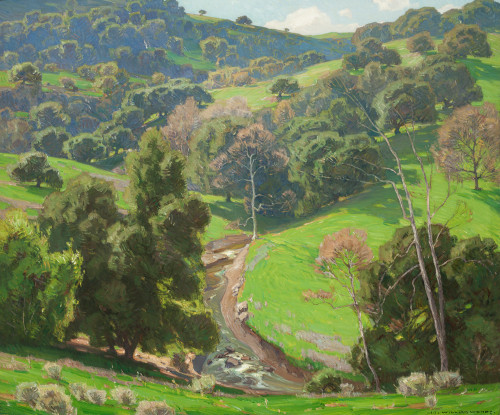 The Mantle of Spring by William Wendt | Fine Art Print