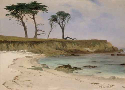 Sea Cove by Albert Bierstadt | Fine Art Print