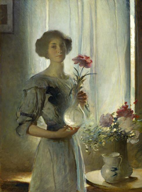 June by John White Alexander   Fine Art Print