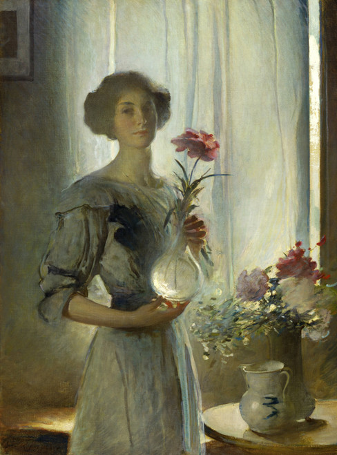June by John White Alexander | Fine Art Print