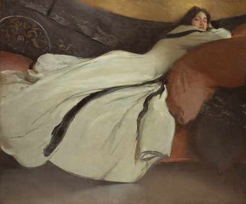Art prints of Repose by John White Alexander