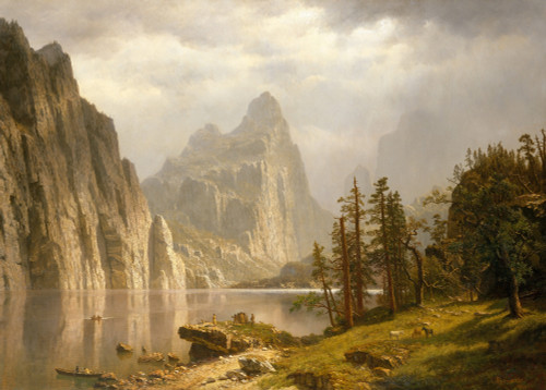 Merced River, Yosemite Valley by Albert Bierstadt | Fine Art Print