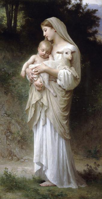 Art Prints of Innocence by William Bouguereau
