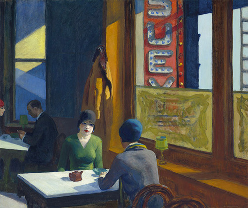Art Prints of Chop Suey by Edward Hopper