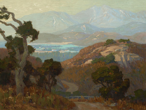 Art Prints of Midsummer-Flintridge by Elmer Wachtel